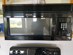 Frigidaire microwave oven with exhaust fan