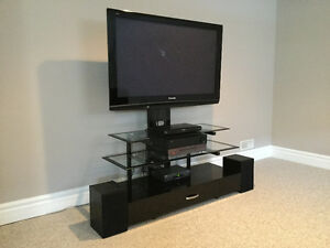 Quality 3-Tier TV Entertainment Unit