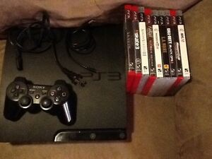 PS3 ready to play with many games