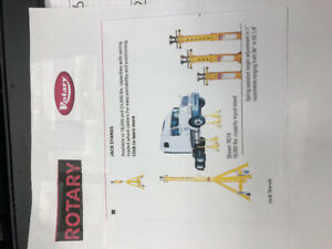 Rotary 18,000 lb. Jack Stands