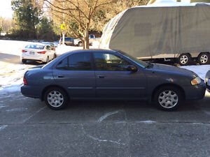 2001 Nissan Sentra XE Sedan