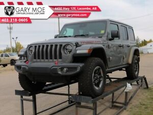 2019 Jeep Wrangler Unlimited Rubicon  Heated Leather Seats - Rea