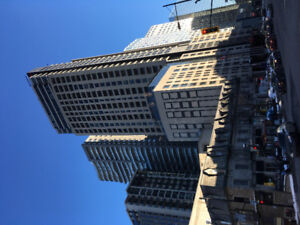 Downtown (place des arts) - 3month sublet with hotel facilities