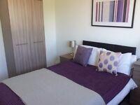 Double room, 2 bed flat, near Addies, garage + on street parking