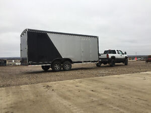 Brand new 20'-2017 forest river enclosed trailer