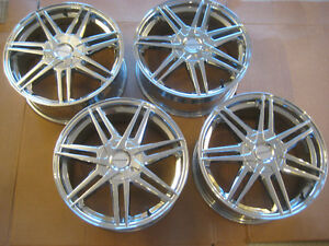 4 NEW Cruiser Alloy wheels 919C Enigma 18x7.5 5x100/5x114.3 rims