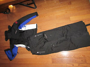 Spider Ski Suit - new - Black with White/Blue