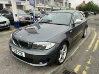 2013 BMW 1 Series 2.0 118D EXCLUSIVE EDITION 2DR Coupe Diesel Manual