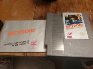 Metroid - NES Nintendo - Classic Game with manual
