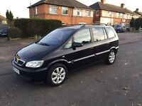 2005 Vauxhall zafira 1.6 Breeze only 73000 miles 2 previous owners Tow bar 2 keys immaculate 7seats
