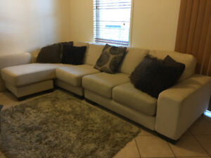 3 pieces L Shaped Sectional Couch - High End