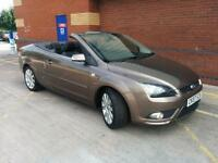 Ford Focus CC-3 2.0 Convertible. AC. EW. EM. CD/AUX. WARRANTY. 1/2 LEATHER. C/C.