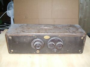 Antique Atwater Kent Model 30 Radio circa 1926