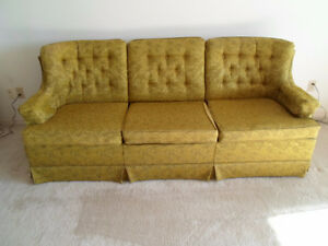 Living Room sofa couch and matching chair. Sears
