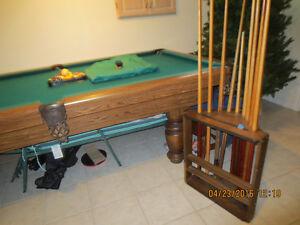 Dufferin pool table