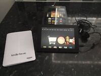 Kindle Fire HD with box