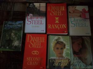 Divers Livres Danielle Steel