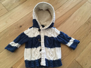 Baby Gap sweater for 3-6 months old baby