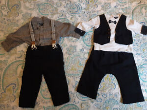 Two very cute outfits. 9 months