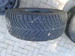 Goodyear Eagle Ultra grip tire and rims