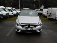 2013/62 MERCEDES-BENZ B180 BLUEEFICIENCY SPORT 1.8CDI 5 DOOR MPV DIESEL
