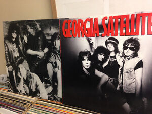 GEORGIA SATELLITES VINYL PAIR