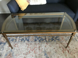 TWO CASTLETON COFFEE TABLE (BOMBAY COMPANY)