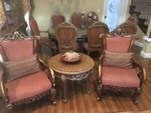 Sofa set & dining table set