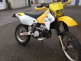 Suzuki drz enduro model full mot