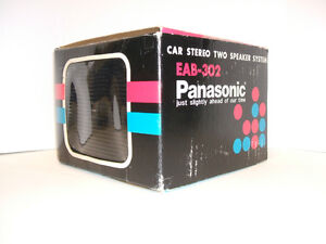 Panasonic Car stereo two speaker system