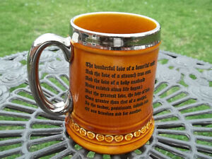 Lord Nelson Pottery vintage Steined Mug made in England coach 2 West Island Greater Montréal image 2