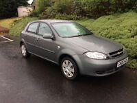 2009 CHEVROLET LACETTI SE A/C 44000 MILES, 1 YEAR MOT, NOT ASTRA FOCUS MEGANE 307