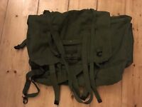 Vintage Army Surplus Messenger Bag