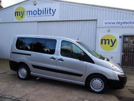 Peugeot Expert Tepee WINCH Scooter Wheelchair Accessible MPV WAV Car
