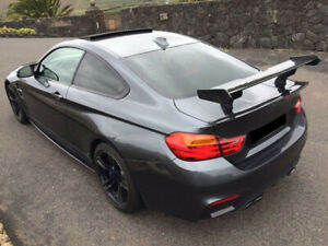 2014-present BMW F82 M4 GTS Style carbon fiber rear racing wing