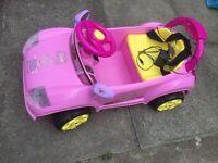 Peppa Pig ride on electric car
