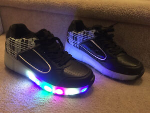 new size 8.5 light up heely's size