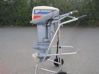Evinrude 9.9hp, with gas tank