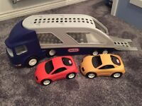 Little Tikes Large two Car Carrier / Transporter