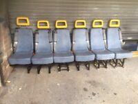 Minibus seats for toyota hiace. transit ldv