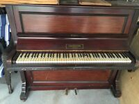 Free Challen & Son London piano with stool.