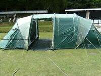 8-Person, Lichfield Commanche Tent with additional breathable groundsheet
