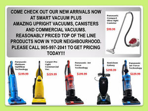 New Portable Vacuums & Central Vacuum Packages