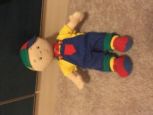Caillou doll/stuffie