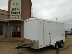 2018 TNT 7x14ft Side'x'Side Enclosed Trailer/Ramp $8499