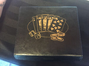 Card set with Poker Chips and Dice!