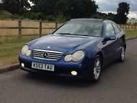 MERCEDES BENZ KOMPRESSOR 1.8 AUTOMATIC WARRANTED LOW MILES FULL SERVICE HISTORY 3 MONTHS WARRANTY