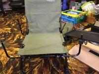 New robotics carp fishing chair