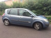 55 Plate Renault Scenic, 60,550 miles £500 ono
