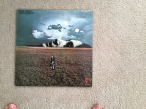 John Lennon Mind Games 33 1/3 RPM vinyl LP